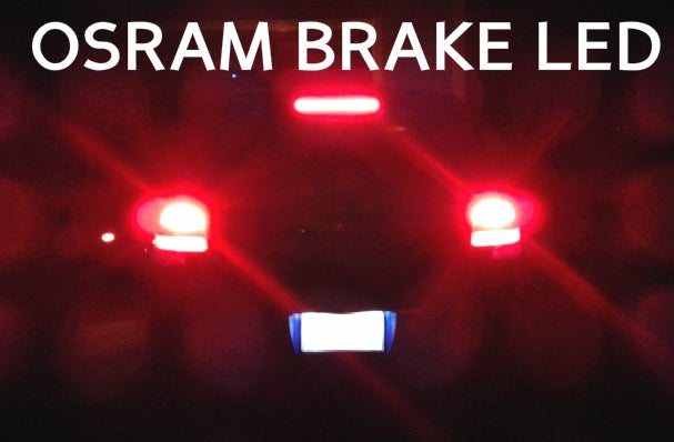 Image of 1156 Red Brake LEDs - Error Free - Fits: All Audi A3 Models