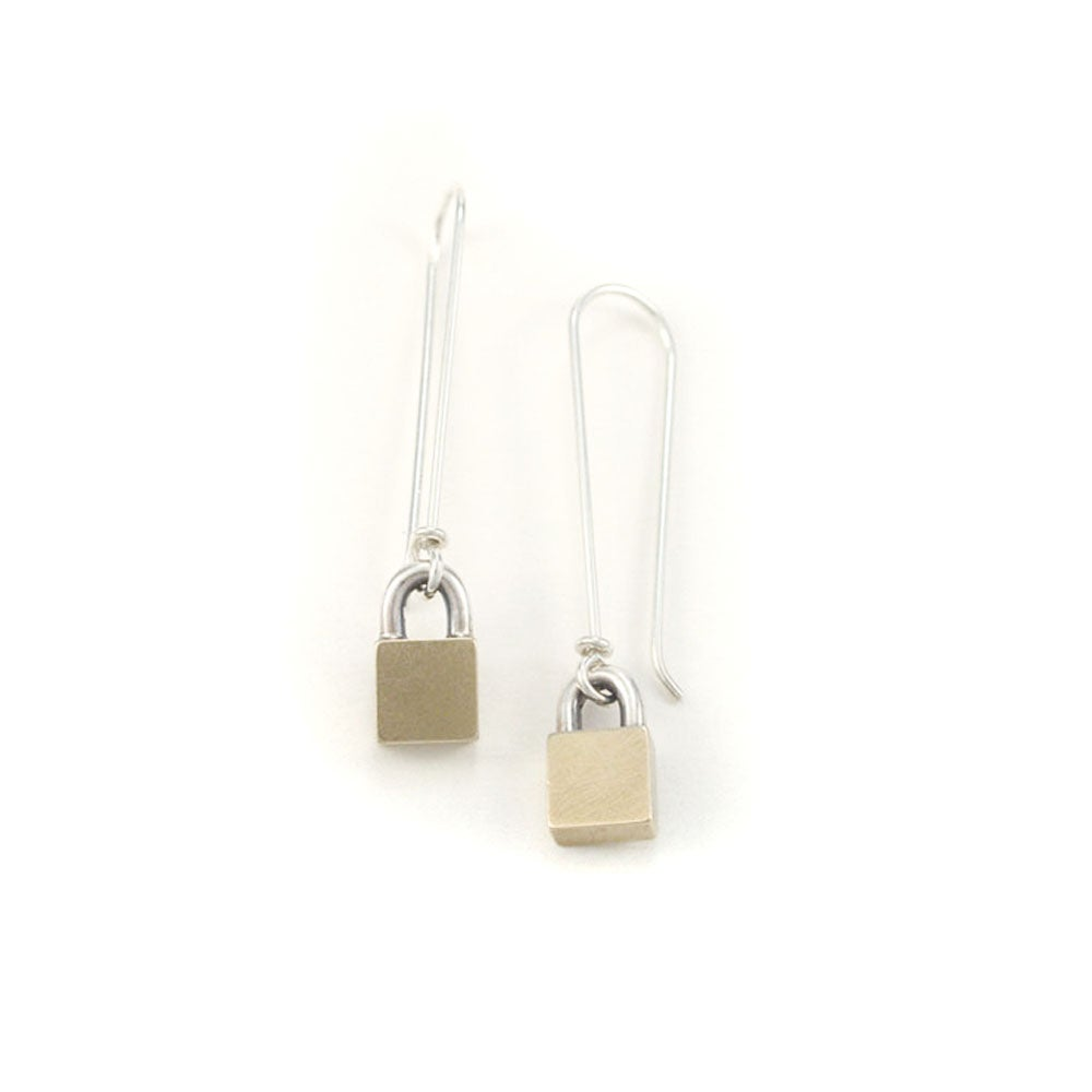 Image of Long Lock earrings