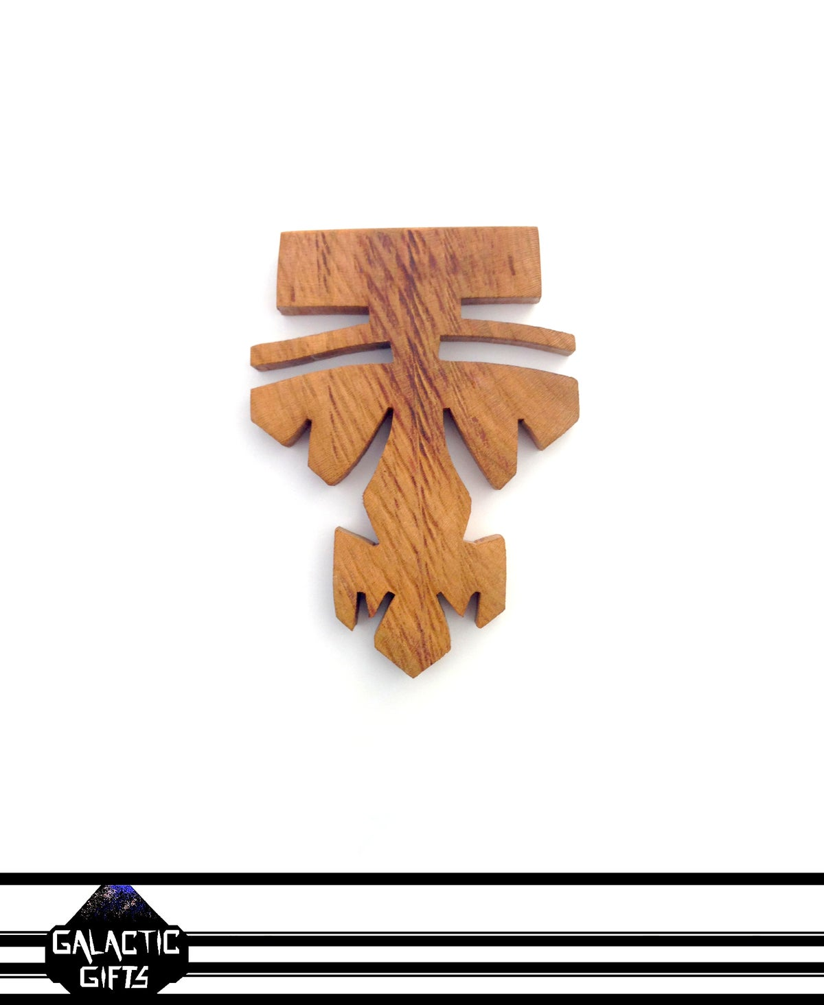 Image of Cosmic Architect Cherry Wood Tribal Medallion 9#