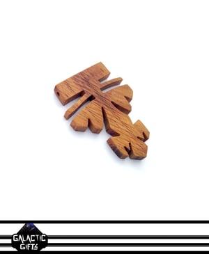 Image of Cosmic Architect Cherry Wood Tribal Medallion 9#