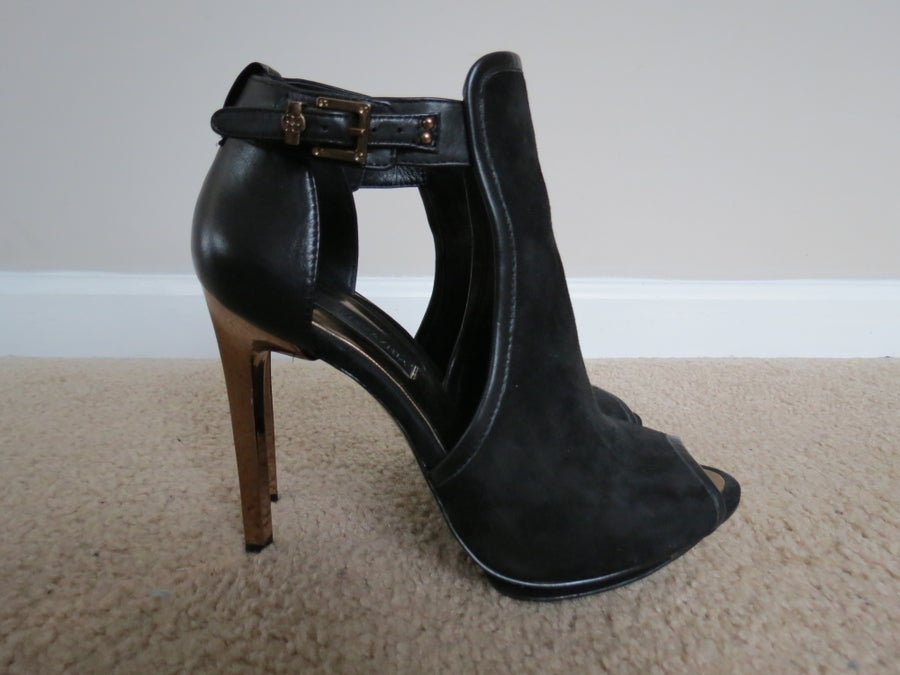 Image of BCBG Suede Booties