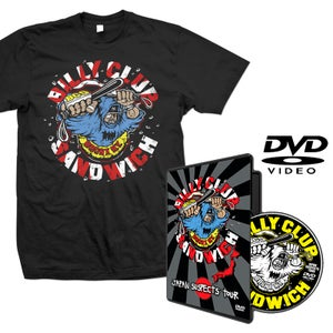"""Image of BILLY CLUB SANDWICH """"Japan Suspects Tour"""" DVD and T-Shirt"""