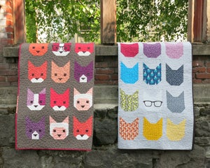 Image of THE KITTENS pdf quilt pattern
