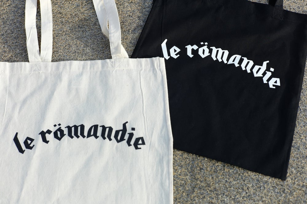 "Image of Tote bag ""le Römandie"""
