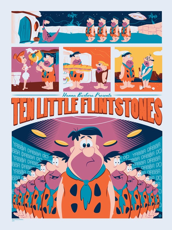 Image of Ten Little Flintstones