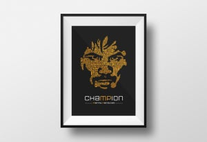 Image of chaMPion PRINT  -  S A L E