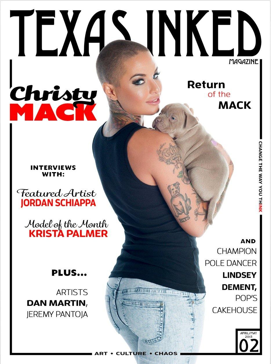 Inked magazine christy mack