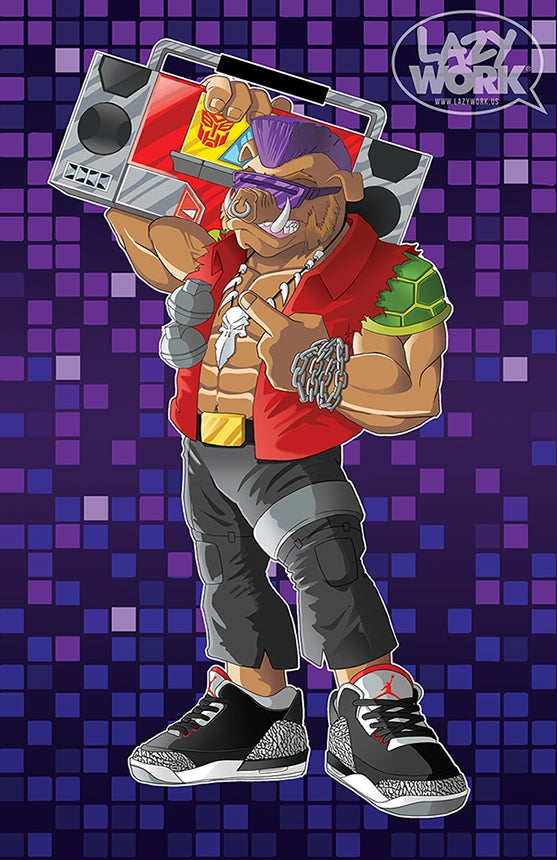 Image of SNEAKS & BEATS SERIES: BEBOP & BLASTER