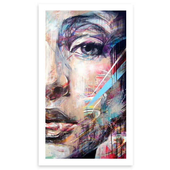"Image of ""Half Portrait"" OPEN EDITION PRINT - FREE WORLDWIDE SHIPPING!!!"