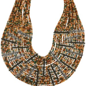Image of Zulu Collar (Jungle Green) by Eb&Ive