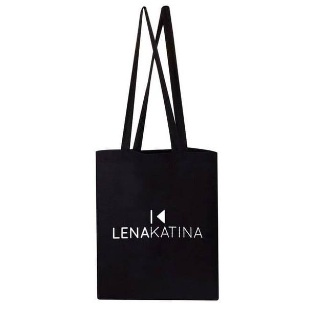 Image of LENA KATINA SHOPPING BAG BLACK
