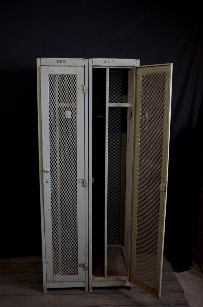 Image of Mid-Century Industrial Engineers Locker