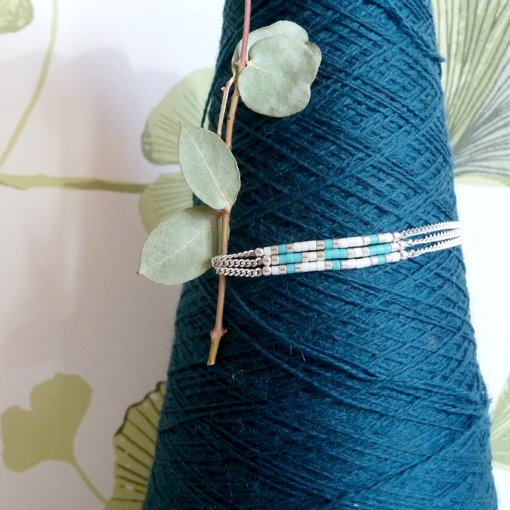 """Image of Bracelet Turquoise """"IOS"""""""