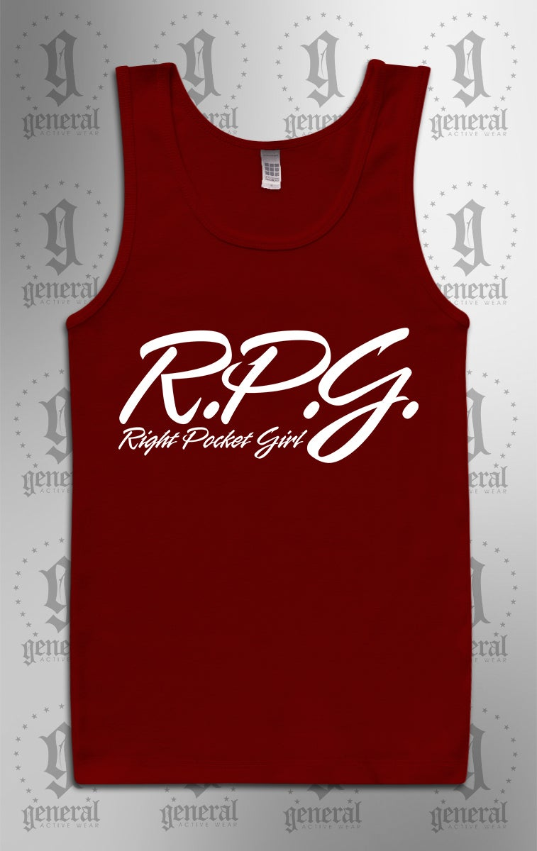 Image of Right Pocket Girl Tank Tops