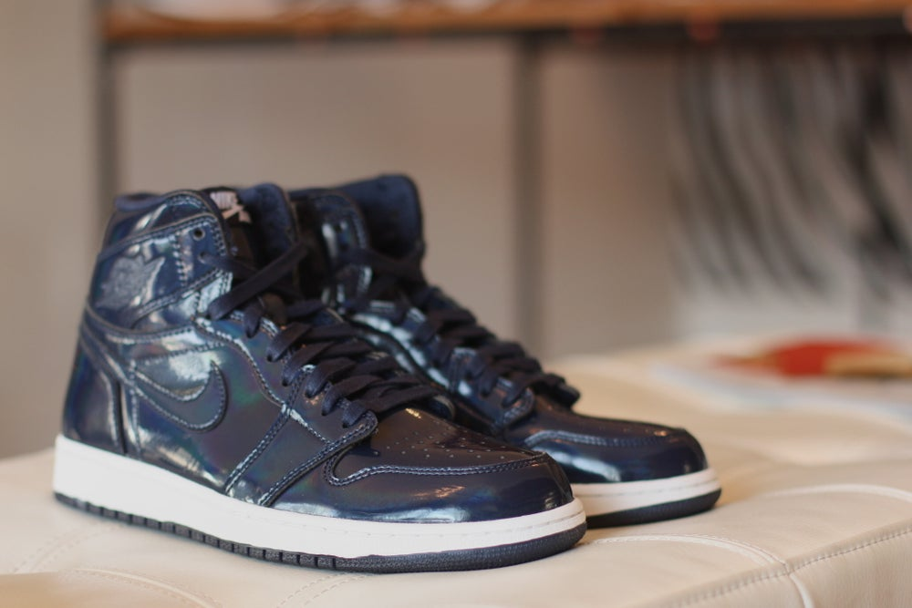 Image of  AIR JORDAN RETRO 1 X DOVER STREET MARKET 789747 401