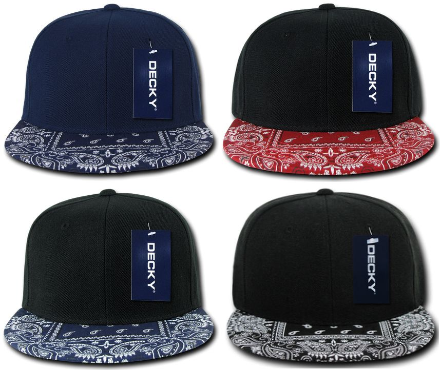 Image of Decky Bandana Snapback / Adjustable Hat Cap