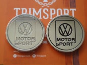 Image of Trimsport VW Corrado VWMS Rear Roundel Badge