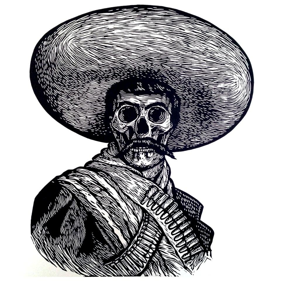 """Image of """"Tierra y Libertad"""" Zapata"""