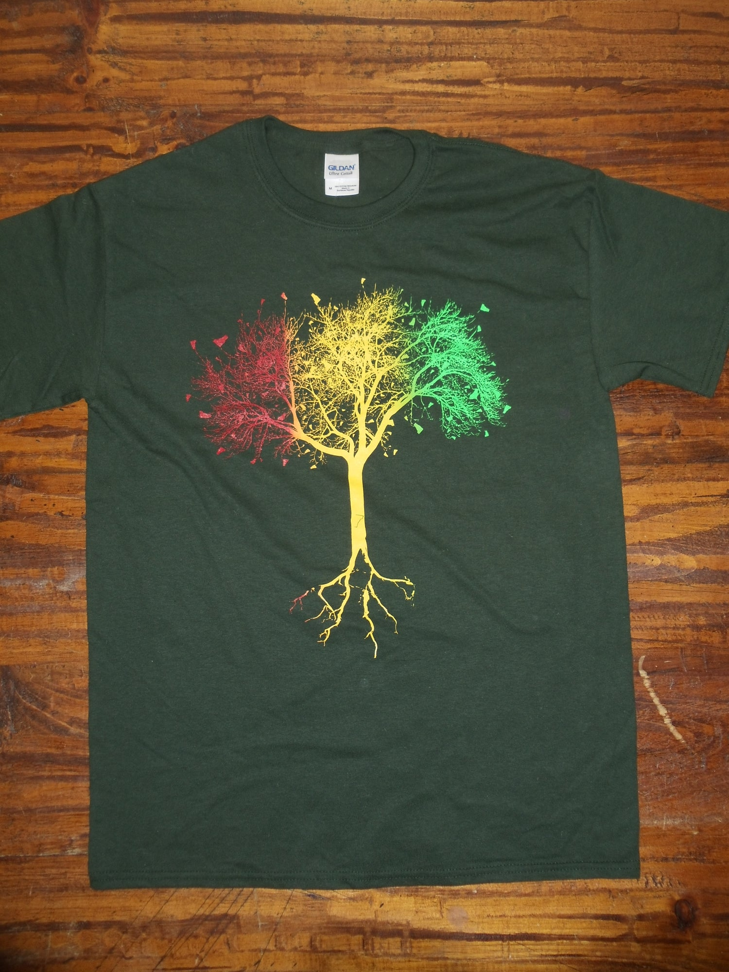 Image of 802 Vtree Tshirt - Vermont Tree Shirt - Vermont Clothing - 802 clothing