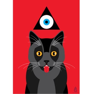 Image of Cat (A2 Poster)
