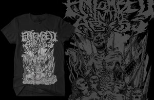 """Image of Black """"Hail"""" Entombed in the Abyss Tee"""
