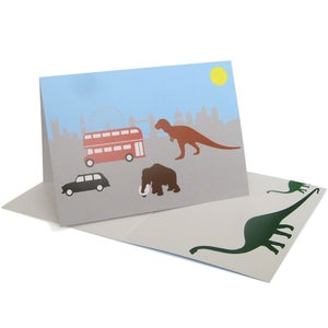Image of Dinosaurs (greeting card)