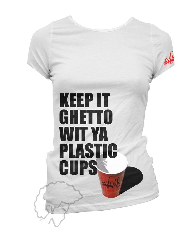 Image of PLASTIC CUPS - J-Dilla Tribute - WOMENS