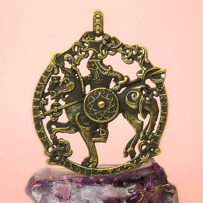 ODIN ON SLEIPNIR. <br> HALLOWEEN SALE, the price is reduced!