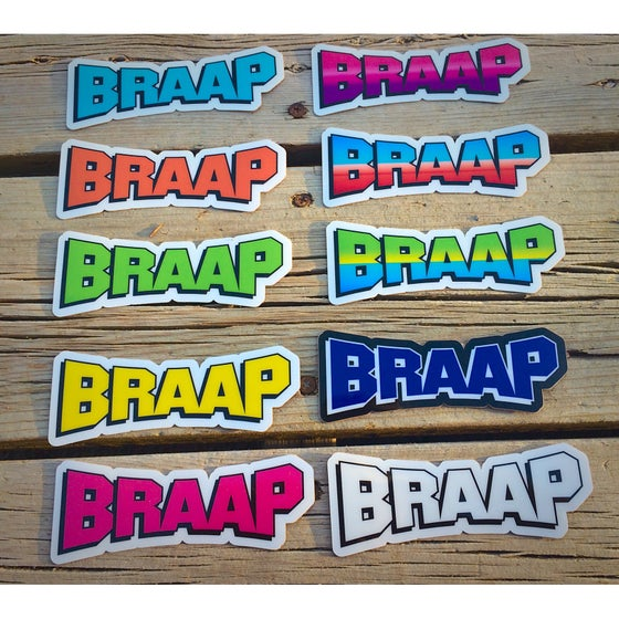 Image of BRAAP Decal