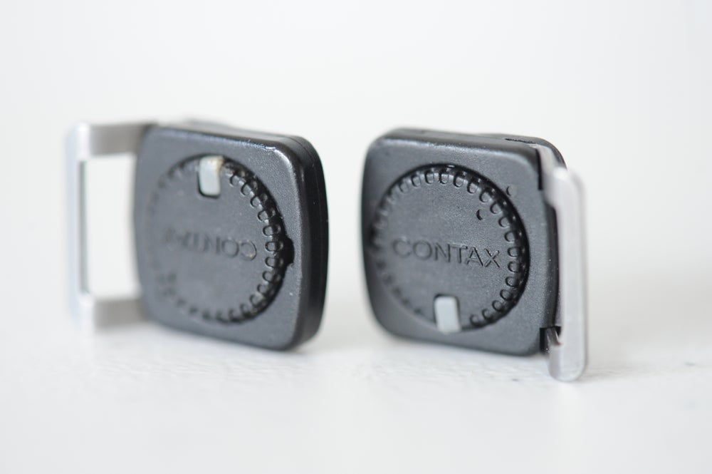 Image of Contax 645 strap lugs (pair)