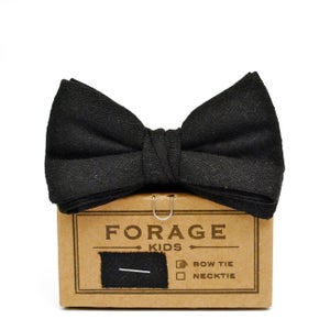 Image of black tie {kids bow tie} *last one