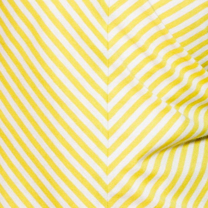 Image of Stomping Romper . Lemon Yellow Stripe