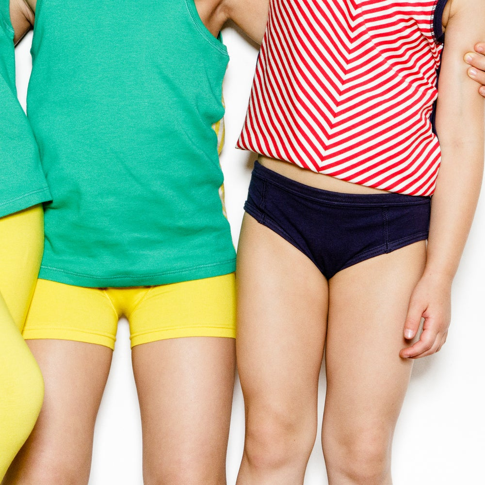 Image of Unders Unisex Brief . Primary Solids 3 Pack