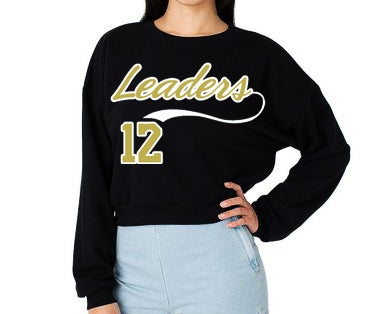 Image of LEADERS CROPPED SWEATSHIRT
