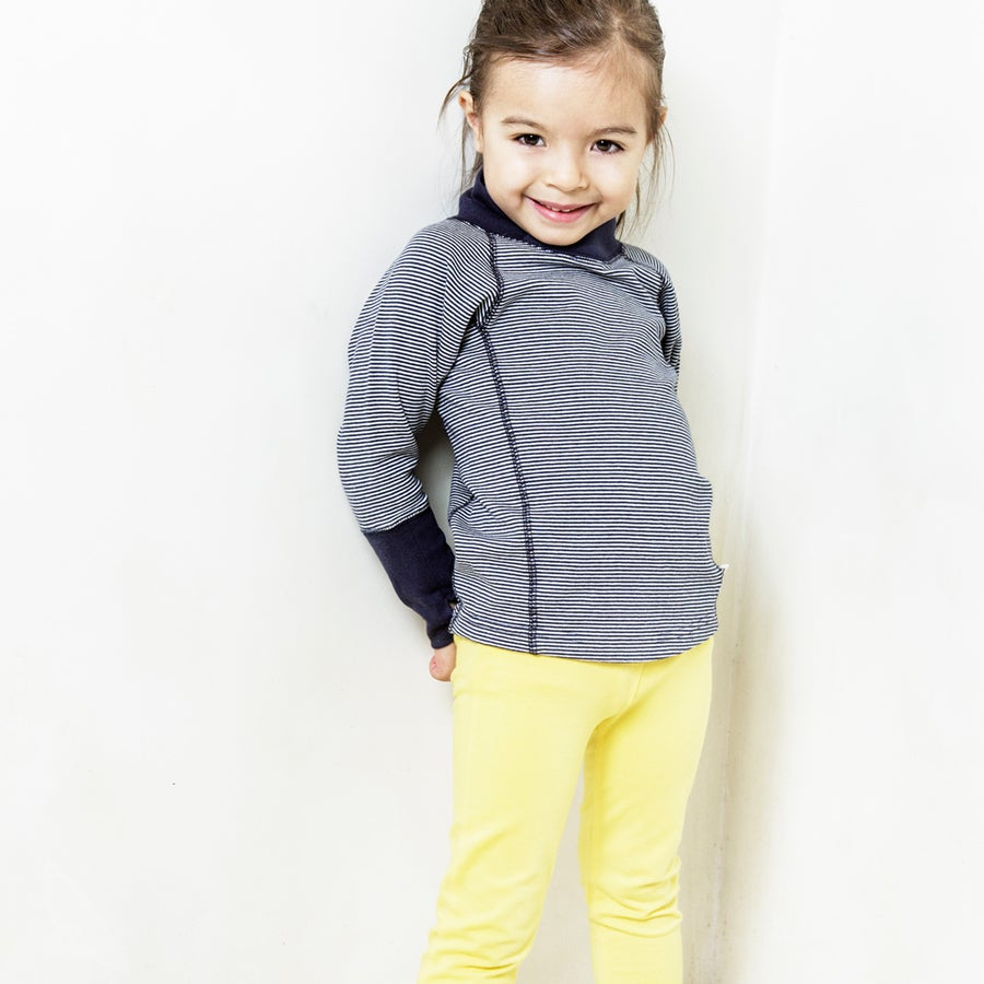 Image of Playtime Leggings . Lemon Yellow