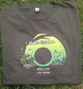 "Image of Roots Garden T-shirts , Hand screen printed ""Music Tree"" (Khaki Green)"