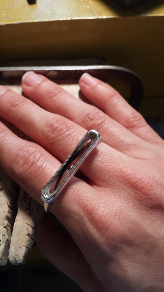 Image of Baby's First Haircut 2 Finger Ring