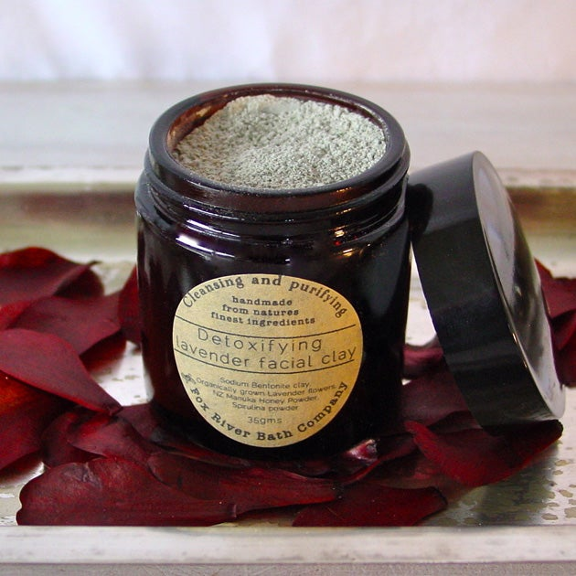 Image of Detoxifying Lavender Facial Clay Mask
