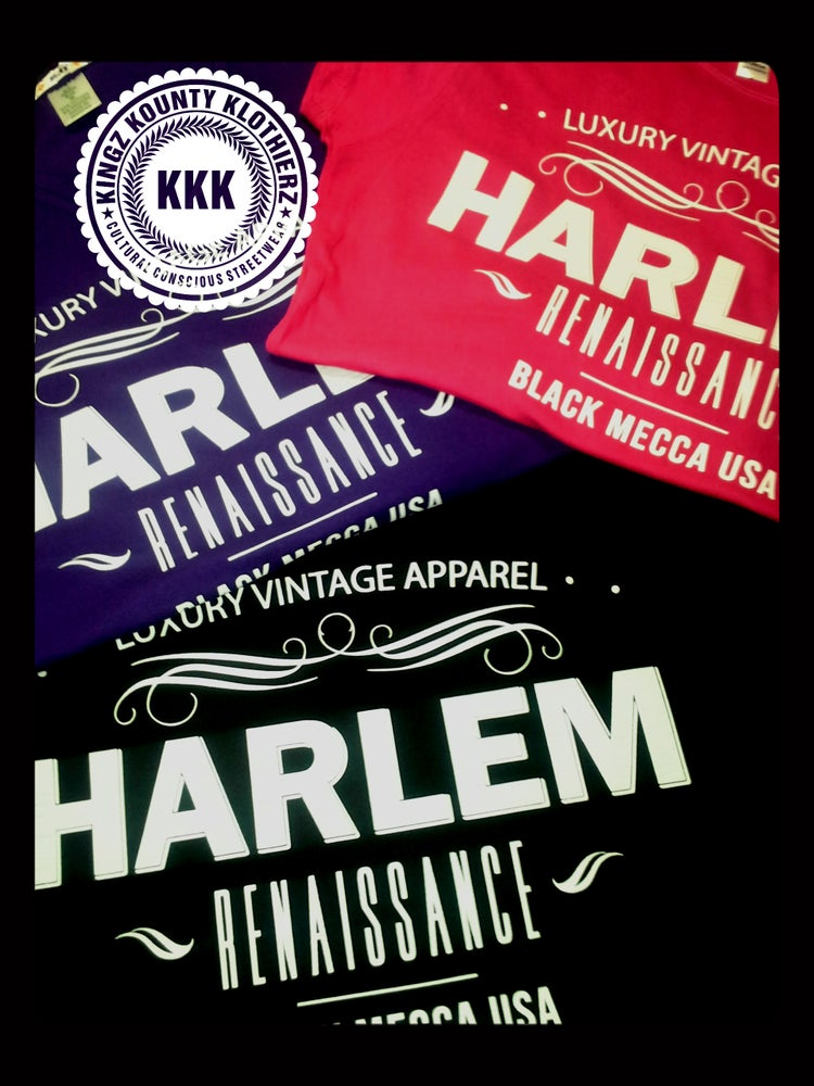"Image of HARLEM RENAISSANCE ""BLACK MECCA"" COLLECTION TSHIRTS"