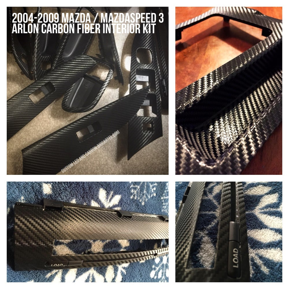 Image of Mazda 3 / MAZDASPEED 3 • 2004-2009 MK1 Carbon Fiber Kit