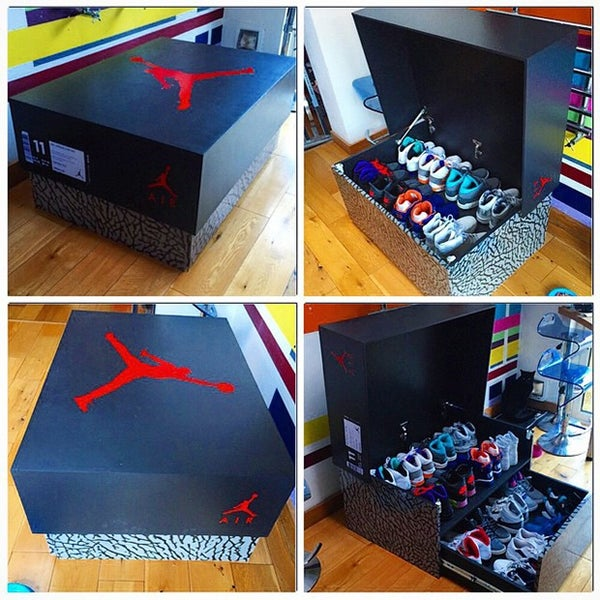 Image of SALE ENDS 5.20 Jordan shoe storage!