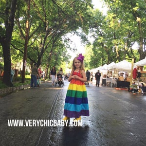 Image of Rainbow Maxidress