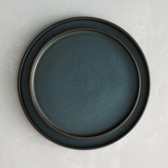Image of Blue Moon plate set