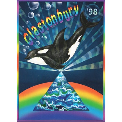 Image of Limited Edition Glastonbury Whale 1998