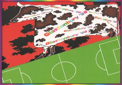 Image of Limited Edition Glastonbury World Cup 1998
