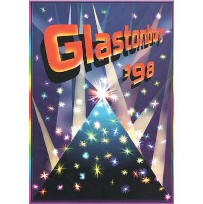 Image of Limited Edition Glastonbury Sparkle Pyramid 1998