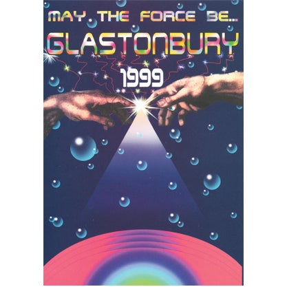 Image of Limited Edition Glastonbury The Force 1999