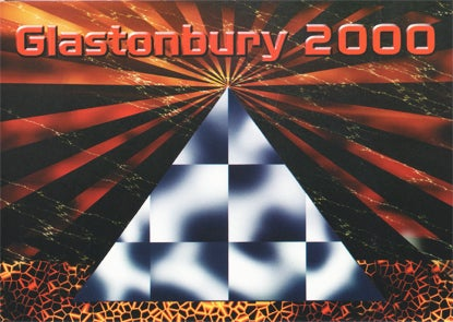 Image of Limited Edition Pyramid Red Rays 2000
