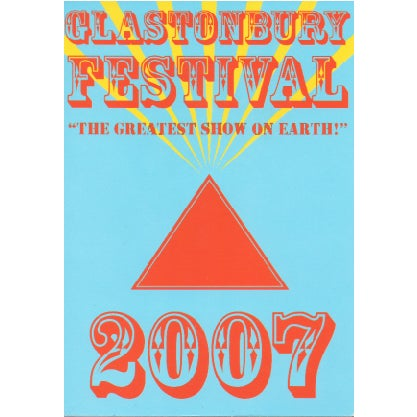 Image of Limited Edition Glastonbury Greatest Show 2007