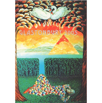 Image of Limited Edition Glastonbury Singing Swans 2005